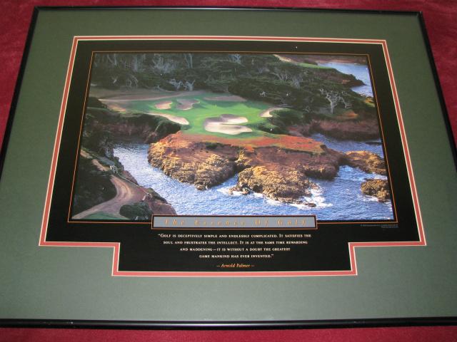 Motivational Art Quot The Essence Of Golf Quot A 1678 Auction