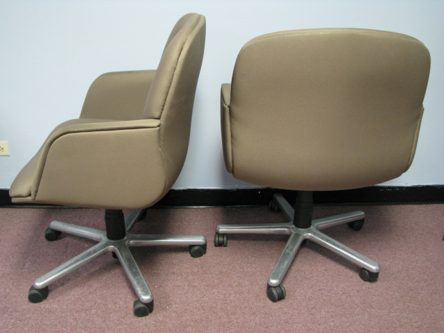 (4) CONFERENCE ROOM CHAIRS - They TILT    (# B-2938)